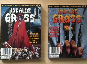 2x foreign EC Horror paperbacks from Norway