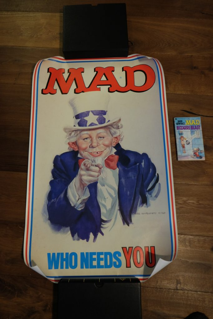 MAD Alfred Neuman 'Who needs You' Big Poster 1
