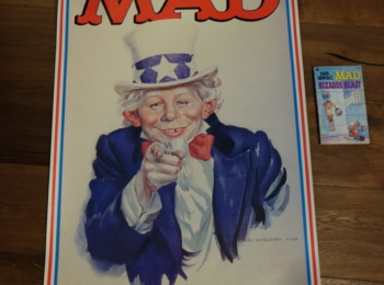 MAD Alfred Neuman 'Who needs You ' Big Poster