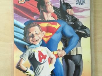 Italian MAD book 'MAD Contro i Supereroi'