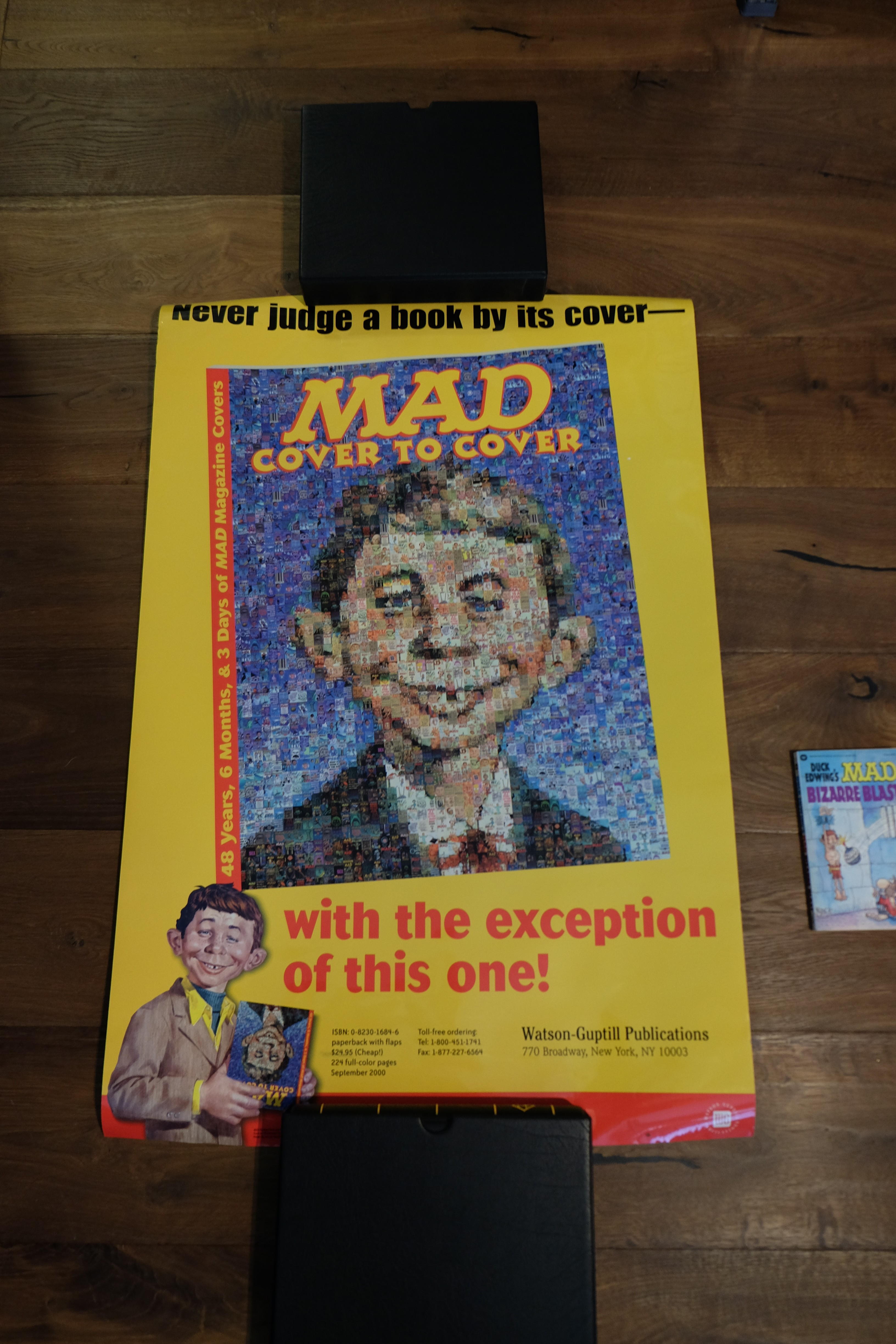 Promotion Poster 'Cover to Cover ' MAD Book
