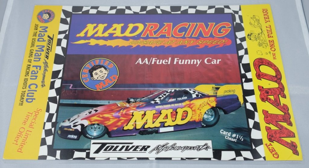 MAD Racing Dale Creasy Fan Club Subscriber Cards