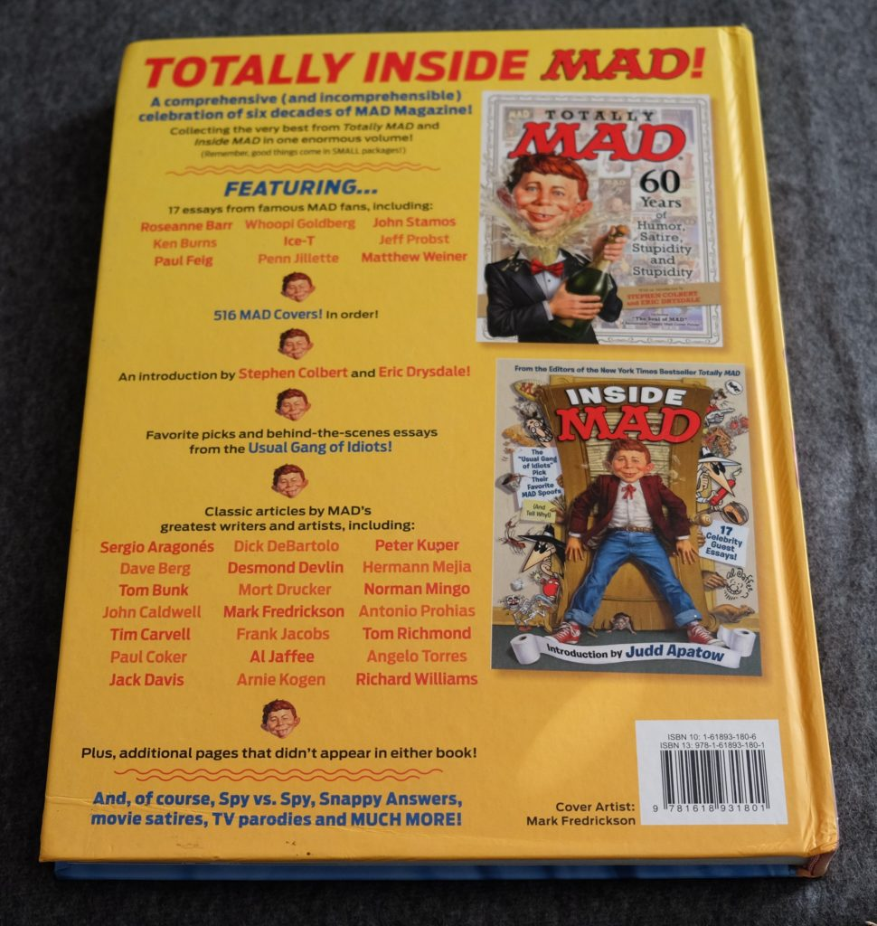 Totally Inside MAD book – Sold for a limited time only!!