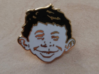 Alfred Face Label Pin