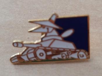 Spy Tank Label Pin (Version 2)