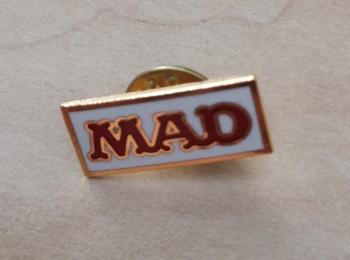 MAD Logo Label Pin
