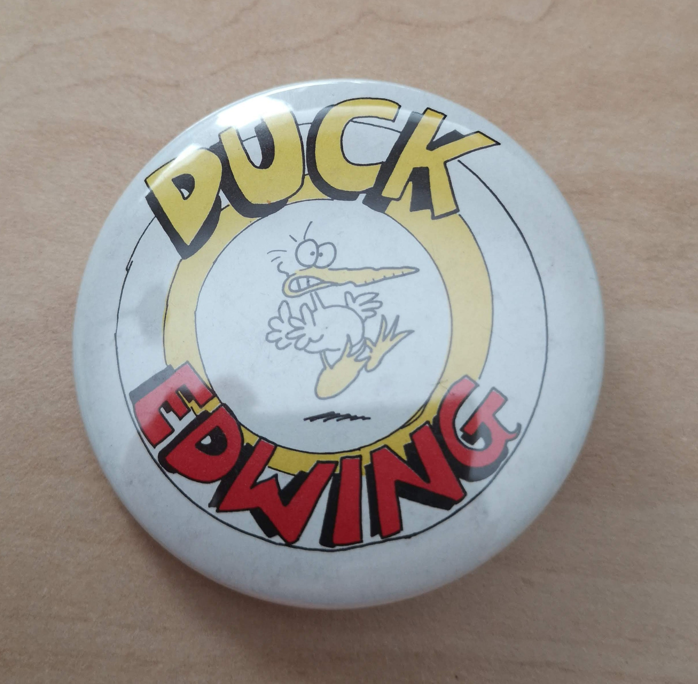 Big Duck Edwing Button