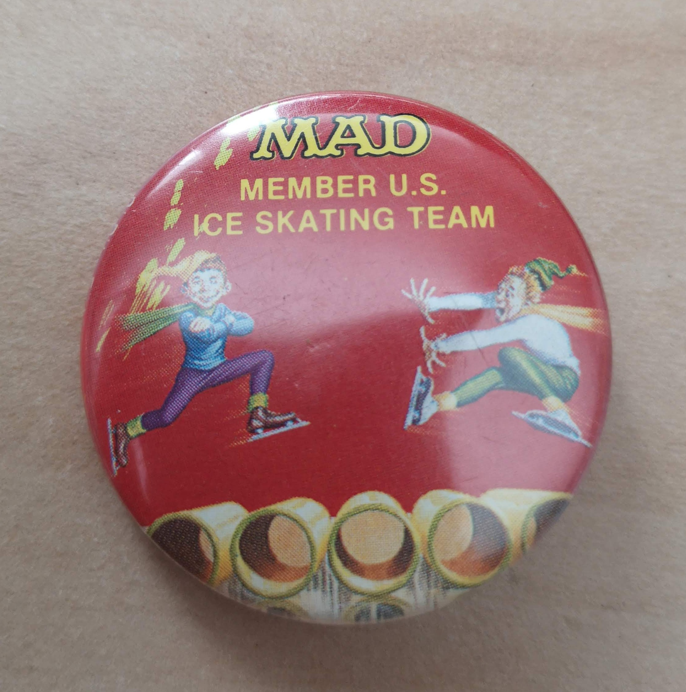 Set of 8 MAD Buttons from 1990's