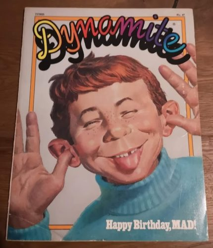 Dynamite Magazine front cover