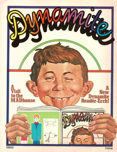 Dynamite Magazine #3 from 1974