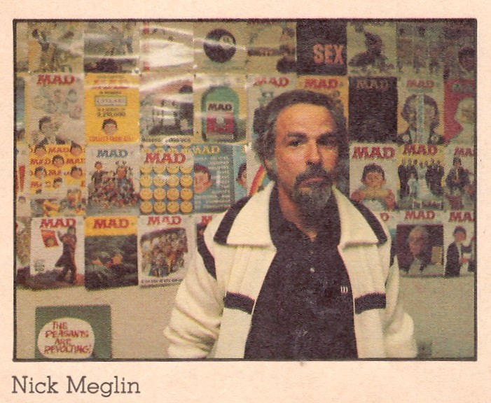 Nick Meglin in the MAD office