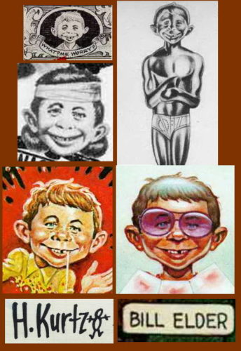 Alfred E. Neuman by Harvey Kurtman and Will Elder
