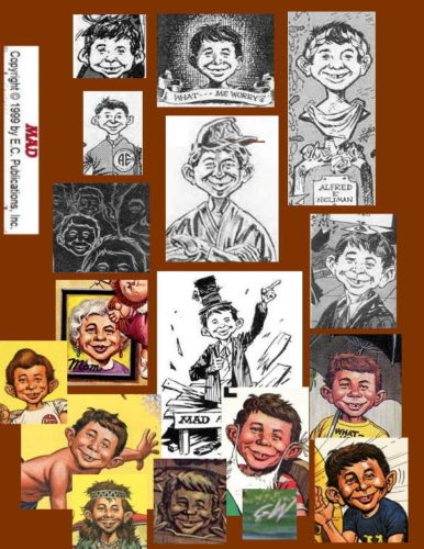 Alfred E. Neuman by George Woodbridge