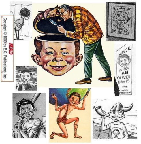 Alfred E. Neuman by Dave Berg
