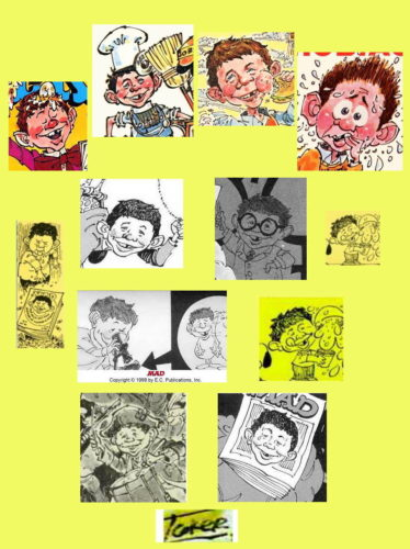 Alfred E. Neuman by Paul Coker Jr.