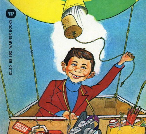Alfred E. Neuman by Paul Peter Porges