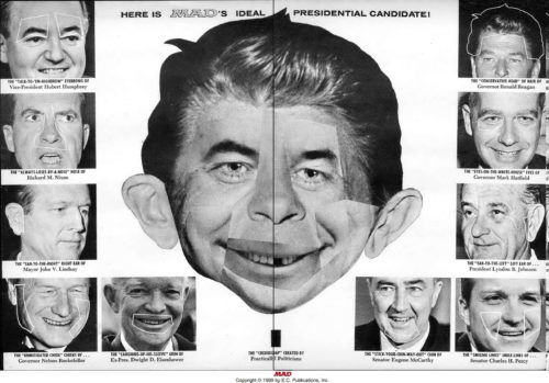 Alfred E. Neuman by Max Brandel