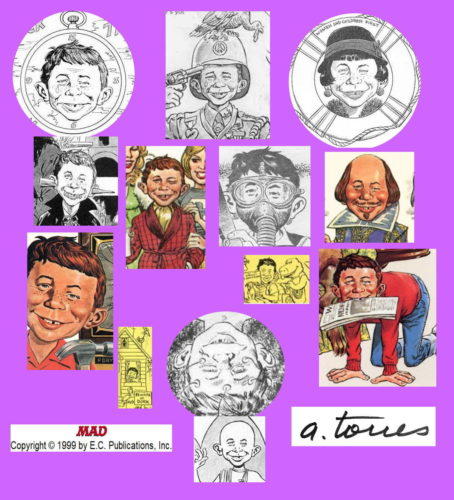 Alfred E. Neuman by Angelo Torres