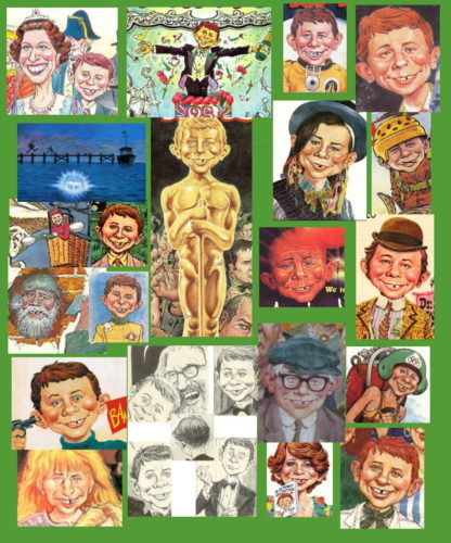 Alfred E. Neuman by Harry North