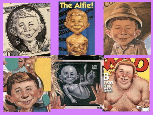 Alfred E. Neuman by C.F. Payne