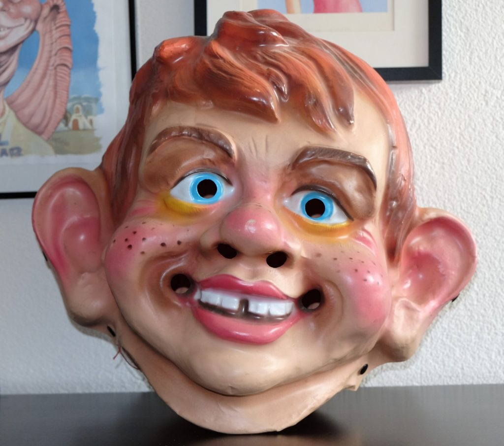 Large Alfred E. Neuman Plastic Head