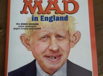 Der Spiegel (German News Magazine) with Alfred on cover