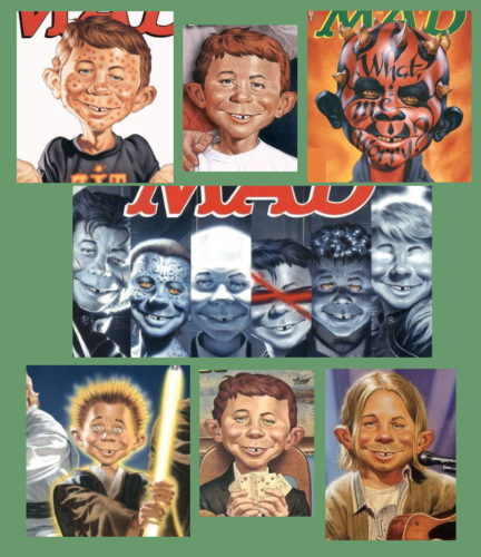 Alfred E. Neuman by Mark Stutzman