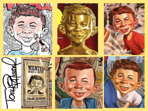 Alfred E. Neuman by Tom Richmond
