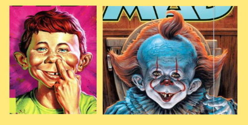 Alfred E. Neuman by Jason Edmiston