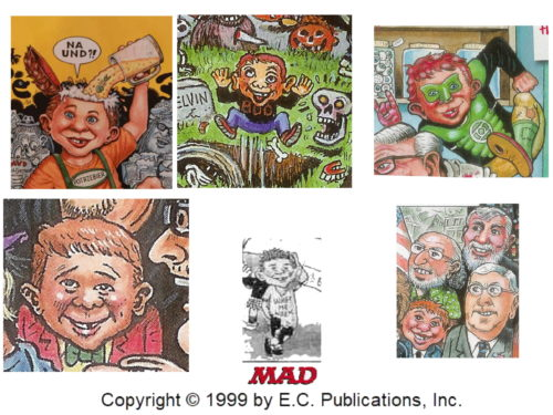 Alfred E. Neuman by Tom Bunk
