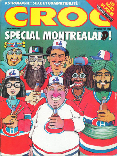 French Canadian Satire Magazine 'Croc'