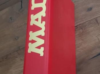 Red MAD Magazine Binder
