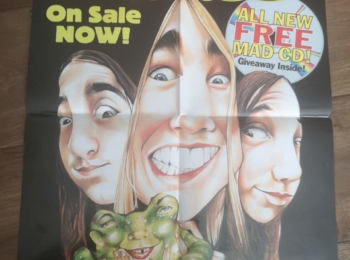 Australian MAD Silverchair Promotion Poster