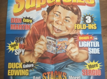 Australian SuperSize MAD Promotional Poster