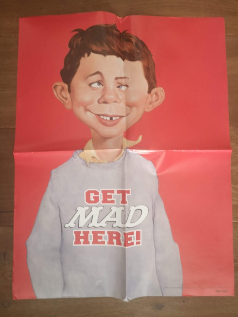 "Australian MAD Promotional Poster ""Get MAD Here"""