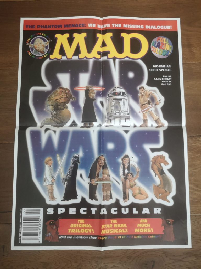 Australian Promotional Poster for Star Wars Spectacular Issue
