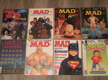 Several Different MAD Magazine Issues