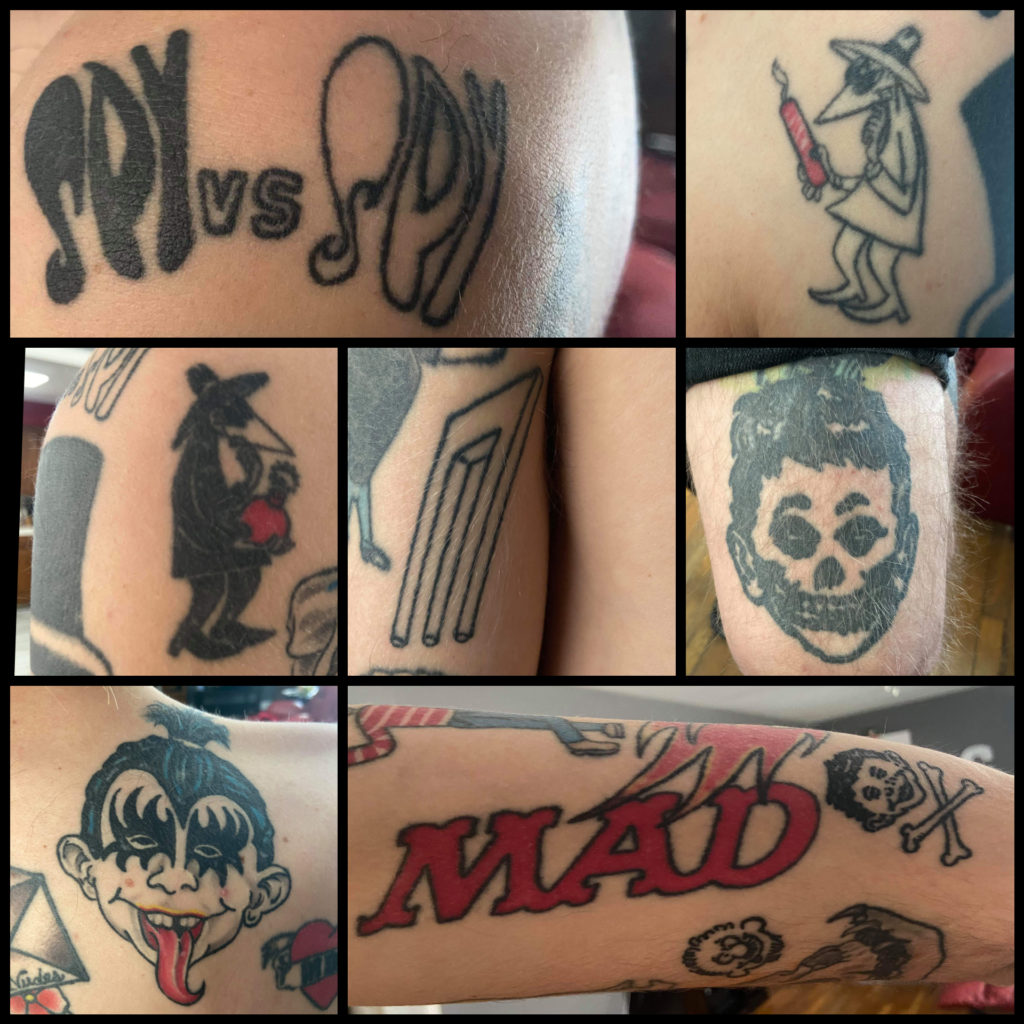 Hunters awesome MAD Tattoos