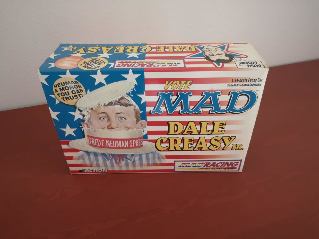 MAD Racing – Dale Creasy Jr – Limited Edition 1:24 Scale Funny Car – Vote MAD – 2000