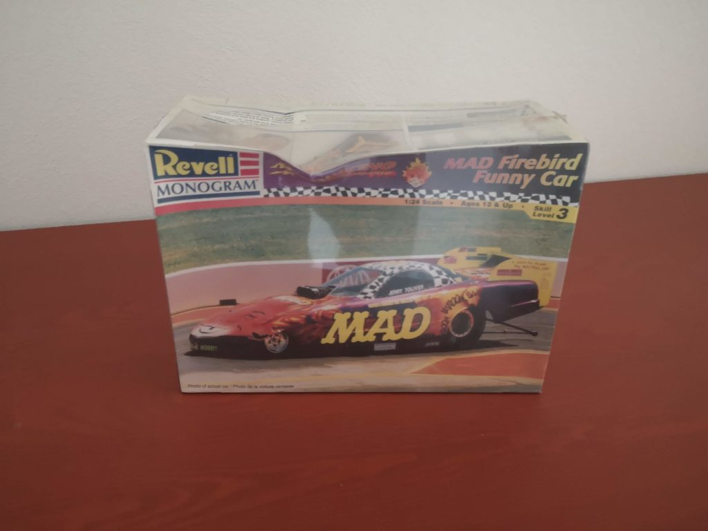 Revell Monogram Mad Racing Firebird Funny Car 1:24 Model