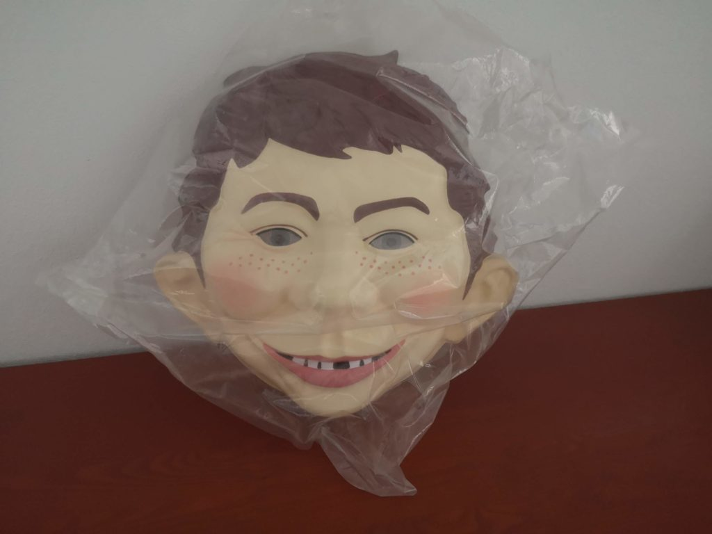 Big Alfred E. Neuman Face Mask