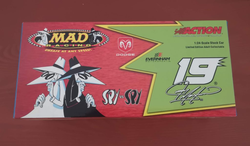 Jeremy Mayfield ACTION 1/24 Dodge Dealers #19 MAD Racing Spy vs Spy