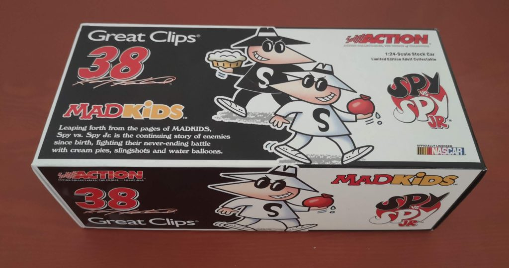 Kasey Kahne #38 Great Clips Spy Vs. Spy Jr Mad Kids 2005 Dodge Charger