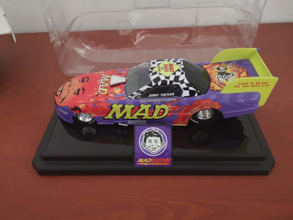 MAD Racing Alfred E. Neuman Champions Diecast Jerry Toliver Replica Car