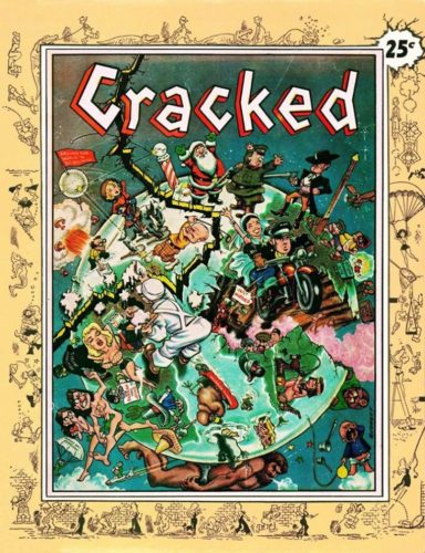 The very first issue of Cracked Magazine from 1958