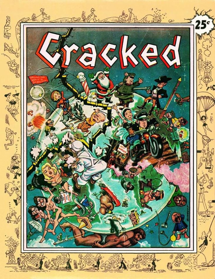 First issue of Cracked Magazine