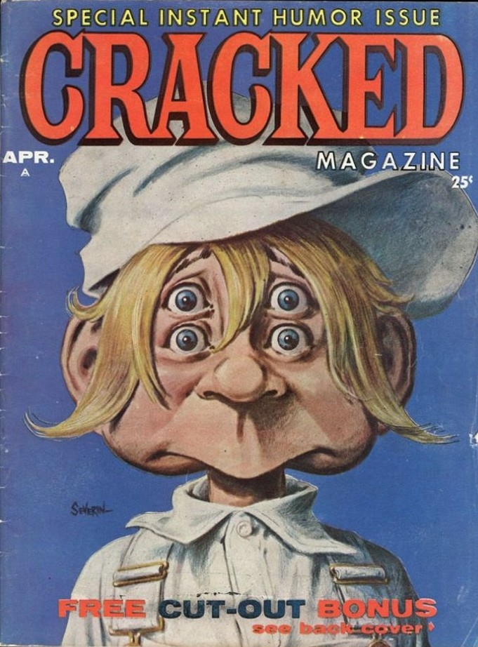 Sylvester P.Smythe of Cracked Magazine